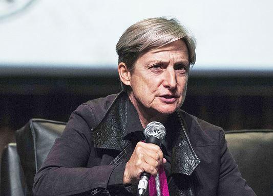 Judith Butler. Patricio Murphy/ZUMA Wire/Alamy